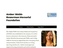 Tablet Preview of amberbowerman.ca